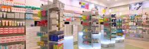 Directorio de farmacias, lugares donde se preparan, dispensan y venden los productos medicinales.