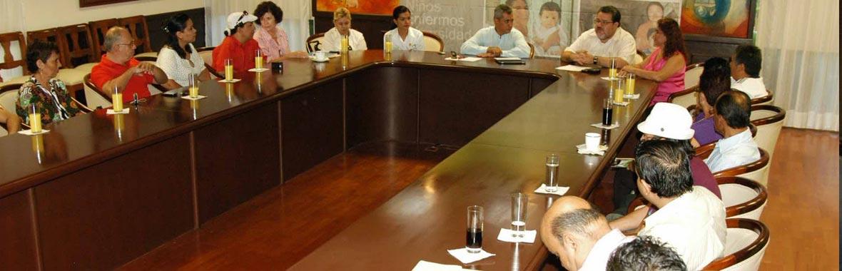 Directorio de Organizaciones con fines administrativos, representativos, de resolución o servicios
