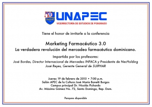 Conferencia Marketing Farmacéutico 3.0
