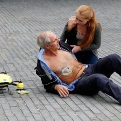 Un 'drone' ambulancia podría salvar vidas en casos de paro cardíaco